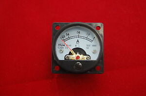 1pc Ac 0 1a Round Analog Ammeter Panel Amp Current Meter So45 Directly Connect