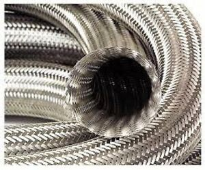 Braided Stainless Steel Vacuum Line Dress Up Hose Cover 1 500 Od 6 Feet