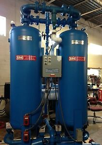 Compressed Air Regenerative Dryer 800 Cfm Heated Dew Point Demand Control