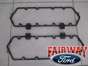 94 Thru 97 F250 F350 Oem Ford 7 3l Di Turbo Powerstroke Valve Cover Gasket Pair