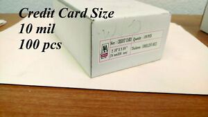 Credit Card 10 Mil 100 Pcs Free Shipping In Us Laminating Pouches Thermal