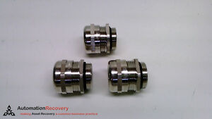 Harting 19 00 000 5090 Pack Of 3 Cable Gland M25 X 1 5 Thread New 219406