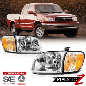 For Toyota Tundra 2000 2004 Oe Style 4pc Set Headlight Corner Lamps Right Left