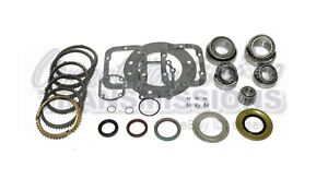 Ford Truck Zf 5 Speed Rebuild Kit 1996 Later bearings Synchros Gaskets Seals
