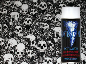 Hydrographics Film Activator Hydrodipping Water Transfer Bones N Roses