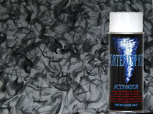 Hydrographics Film Activator Hydrodipping Water Transfer Smoke Flame Silver