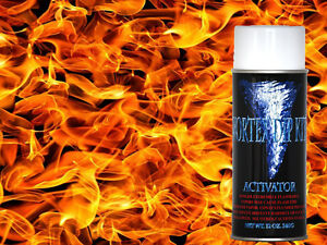 Hydrographics Film Activator Hydrodipping Water Transfer Smoke Flames
