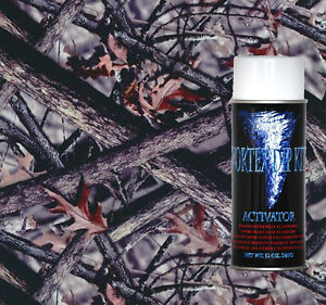 Hydrographics Film Activator Hydrodipping Water Transfer Wild Woods Camo