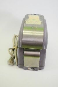 Simplex Ha14g Time Clock Stamp Electric Punch Ink Stamp Vintage