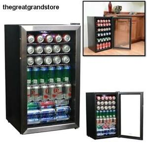 Commercial Beverage Cooler Refrigerator Freezer Fridge Rack Cold Drink Party Bar