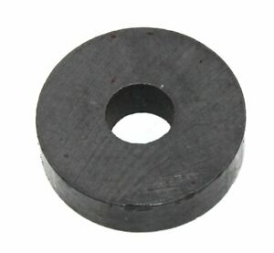 Round 0 75 Ferrite Magnet With Mount Hole 0 5lb Strength Lot Of 10