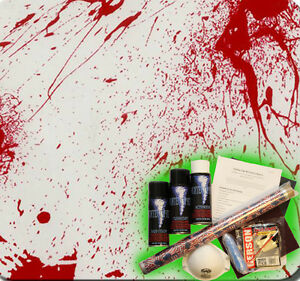 Hydrographics Dip Kit Activator Hydrodipping Hydro Dip Blood Splatter