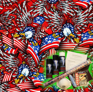 Hydrographics Dip Kit Activator Water Transfer Film Hydro Flags And Eagles