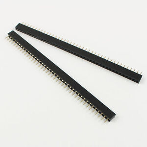 1000pcs 2mm 40 Pin Female Single Row Pin Header Strip