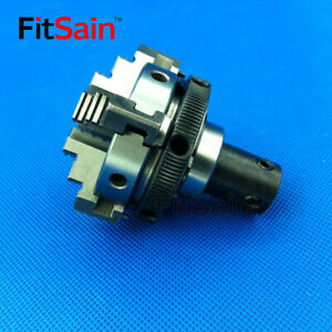 Fitsain four Jaw Chuck D 50mm Cnc Mini Lathe Chuck Bench Lathe For Shaft 10mm