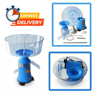New Milk Cream Skimmer Electric Centrifugal Separator Up To 100 L h Motor Sich