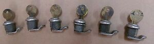 lot Of 6 7 8 Key ll67 W Lock For Use On toolboxes mailboxes desks safes