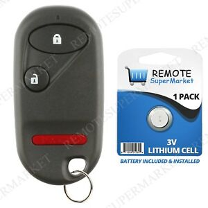 Replacement For Honda 1994 1997 Accord 1996 2000 Civic Remote Car Key Fob 3b
