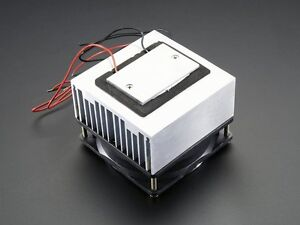 Peltier Thermoelectric Cooler Module Heatsink And Fan Assembly 12v 5a 5 Amp