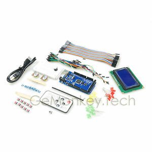 Mega1280 12864 Blue Lcd Ir Control Kits Female male Cable For Arduino Compatible