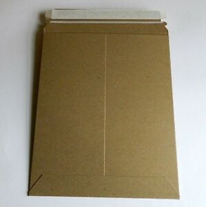 Stayflats Plus Mailers kraft 7 X 9 Rigid No Bend Self Seal Envelope 300 lot