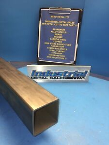Steel Telescoping Square Tube 2 1 4 X 36 long X 105w