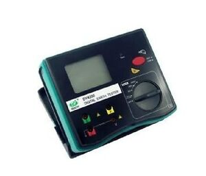 Dy4200 Digital Earth Ground Resistance Tester Meter