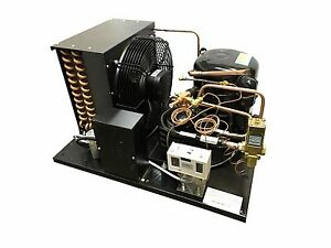 New Combo Air water Cooled Wj2440z 2 Condensing Unit 1 Hp Low Temp R404a 220v