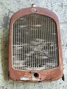 Rare 1925 Chrysler Four Grill Shell Radiator Original Vtg 20 S Hot Rod Scta 32