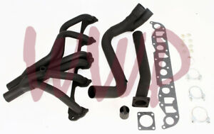 Performance Exhaust Header Manifold Kit 87 93 Jeep Cherokee wagoneer 4 0l 6 cyl