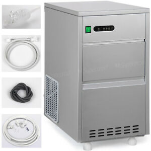 Built in Portable Typebuilt in 60 Lbs day Ice Maker Machine Stainless Typecube