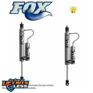 Fox Remote Reservoir Shocks Front 4 6 Lift Kits For 1984 2001 Jeep Cherokee Xj