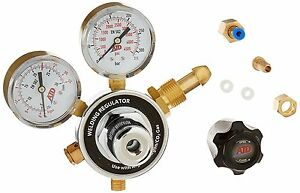 New Co2 Argon Mig Tig Welder Brass Regulator With Gauges