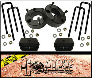 3 Front And 2 Rear Leveling Lift Kit For 2007 2017 Chevy Silverado Gmc Sierra