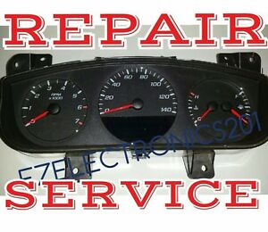 2006 2011 Chevy Impala Monte Carlo Instrument Cluster Repair Service