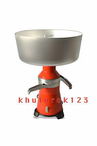 Dairy Cream Electric Centrifugal Separator 80l h New 15 Metal 120v