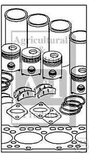 Allis Chalmers Complete Engine Kit Fits B C Ca B125 B15
