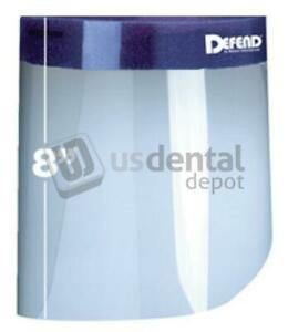 Defend Half Face Shield 25 Box Mk 3001 Packaging 4 Boxes case Case 113607