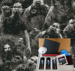 Hydrographics Dip Kit Activator Water Transfer Film Hydro Rancid Zombies