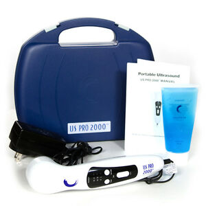 Us Pro 2000 1mhz Ultrasonic Therapeutic Professional Series Portable Ultrasound