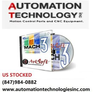 Fully Licensed Mach3 Cnc Software By Artsoft Control Cnc We Will Ship You A Cd