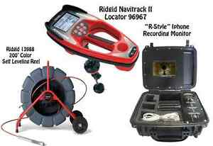 Ridgid 200 Color Sl Reel 13988 Navitrack Ii Locator 96967 R style Iphone Monitor