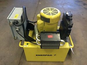 Enerpac Per4410d 115v Portable Hydraulic Pump Free Shipping
