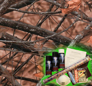 Hydrographics Dip Kit Activator Water Transfer Film Hydro True Woods Brown Camo