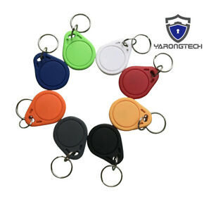 13 56mhz Mifare Classic 1k Iso14443a Waterproof Ic Key Fobs Access Control 10pcs