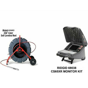 Ridgid 200 Color Sl Reel 13988 Cs65x Wifi 55978 And 2bats And A Charger