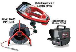 Ridgid 200 Mini Reel 14063 Navitrack Ii Locator 96967 Minipak 32748