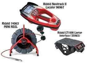 Ridgid 200 Mini Reel 14063 Navitrack Ii Locator 96967 Lt1000 35983