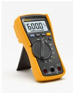 Fluke 115 Digital Multimeter Compact True Rms Backlight Meter New Free Shipping