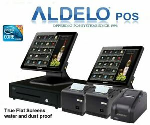 Aldelo Pos Pro Pizza Complete Pos System 64 Bit Windows 5 Years Warranty